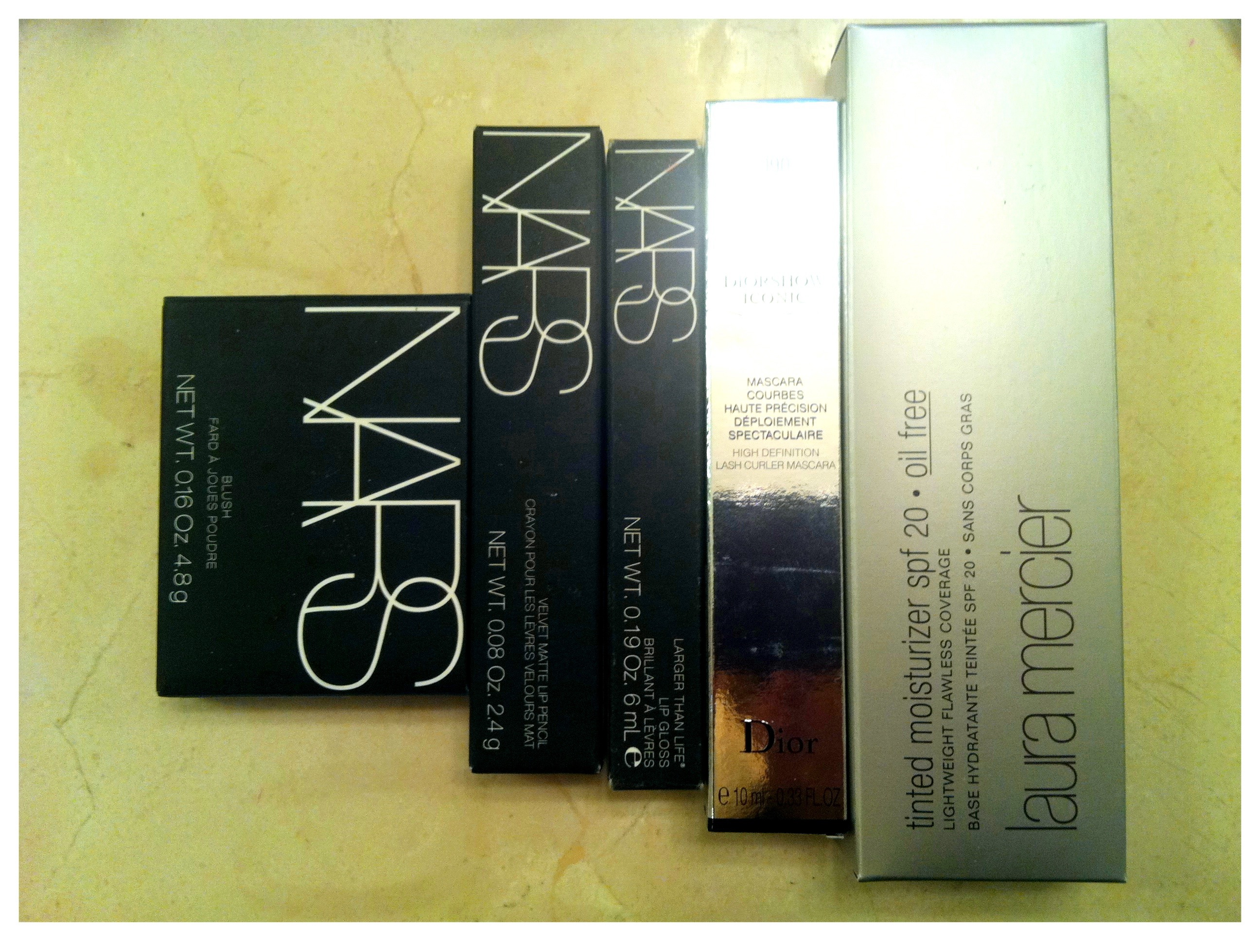 Sephora make Up Nars Laura Mericer Christian Dior