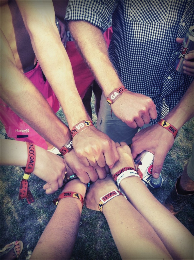 Stagecoach Wristbands