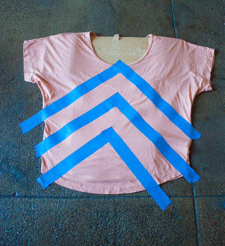bleach shirt DIY-2