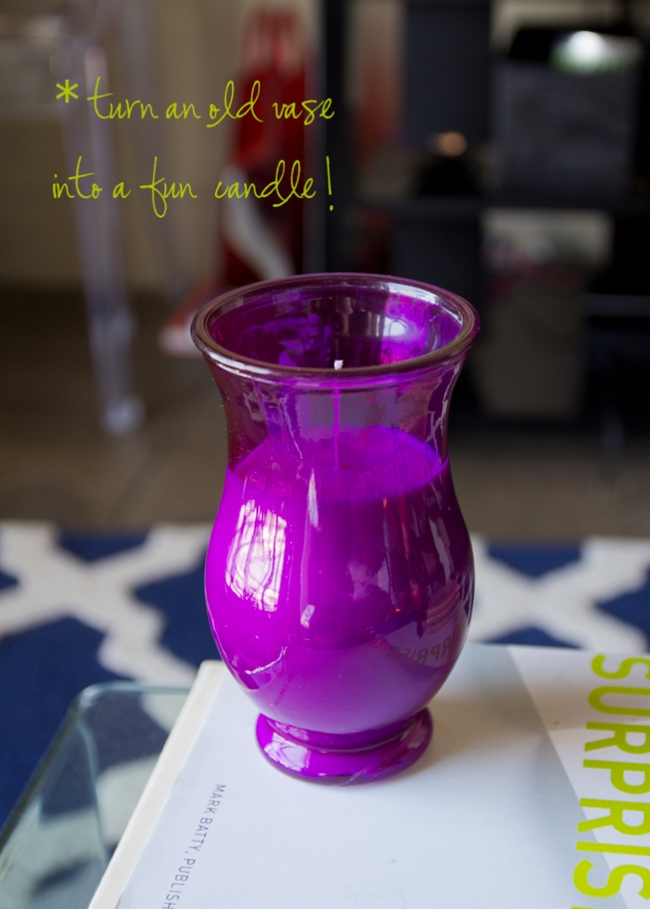 vase candle title
