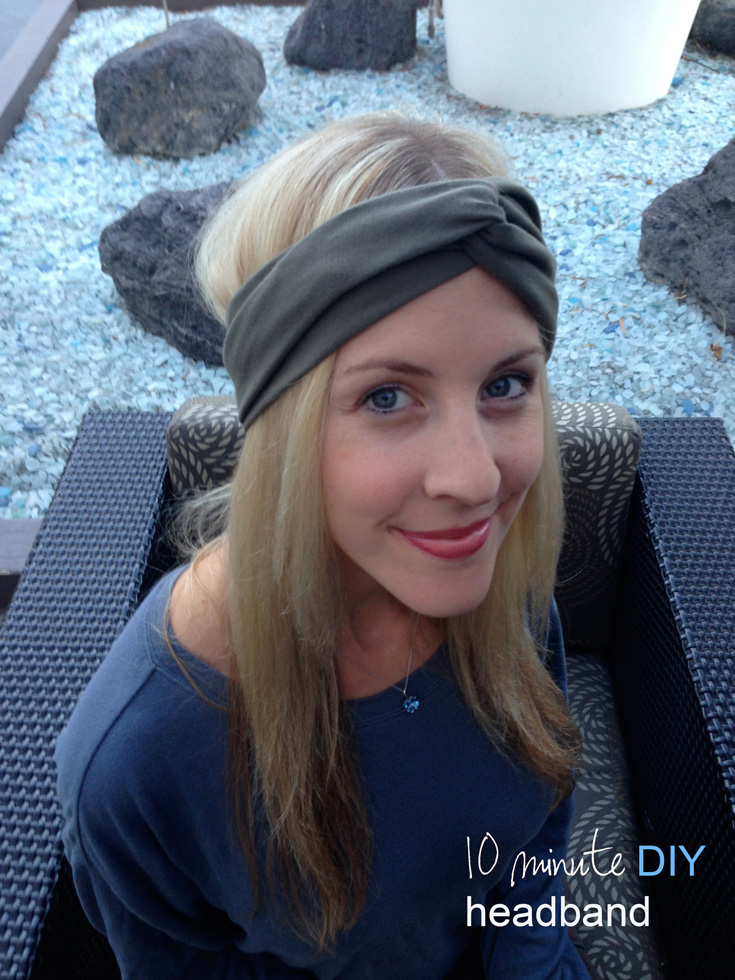 Project 26/52: Easy Headband