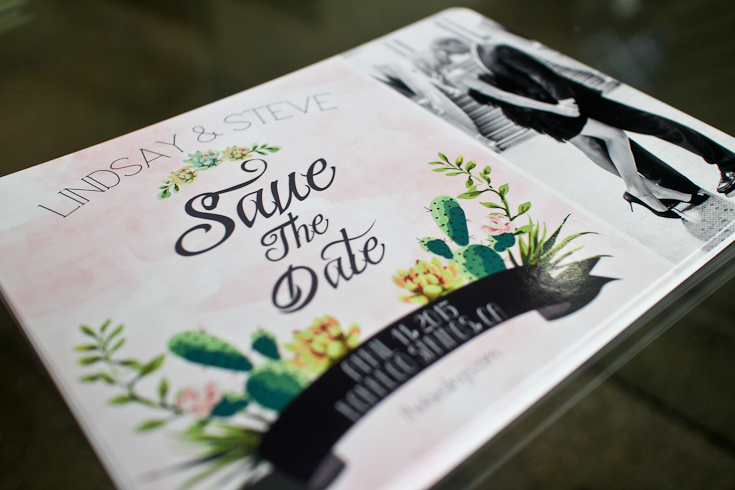 DIY Illustrator Save the Dates